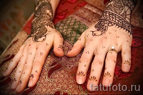 тату узоры на руке для девушек - фото пример для выбора от 28022016 1