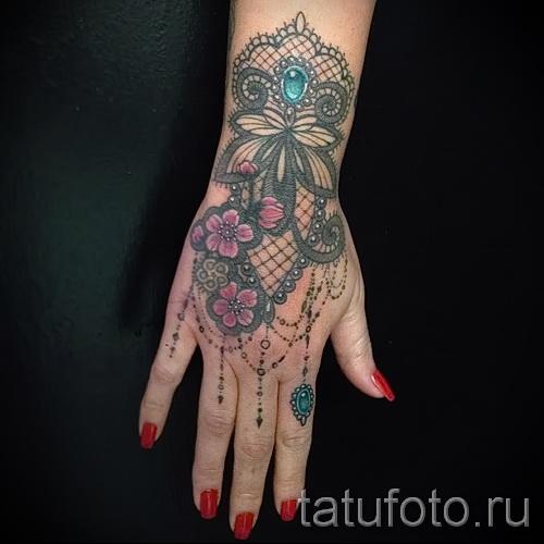 тату узоры на руке для девушек - фото пример для выбора от 28022016 2