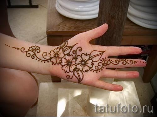 тату узоры на руке для девушек - фото пример для выбора от 28022016 3