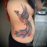 тату феникс акварель - фото готовой татуировки от 11022016 12