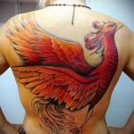 тату феникс для девушек - фото готовой татуировки от 11022016 4