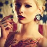 тату феникс для девушек - фото готовой татуировки от 11022016 5