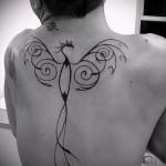 тату феникс для девушек - фото готовой татуировки от 11022016 6