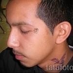 тату феникс на шее - фото готовой татуировки от 11022016 7