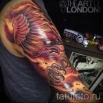 тату феникс рукав - фото готовой татуировки от 11022016 5