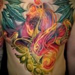 тату феникс - фото готовой татуировки от 11022016 4