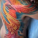 тату феникс фото - фото готовой татуировки от 11022016 4