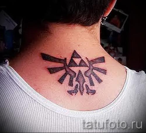 узоры на шее тату - фото пример для выбора от 28022016 20
