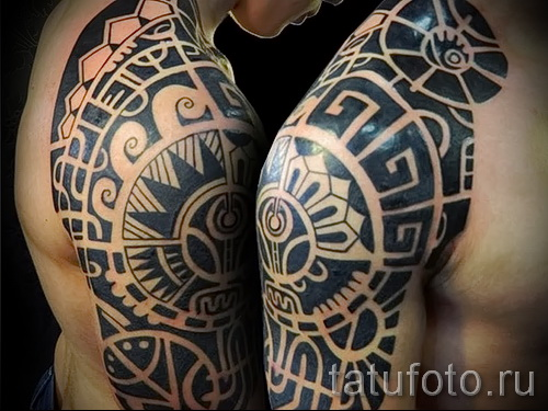 черные узоры для тату - фото пример для выбора от 28022016 1