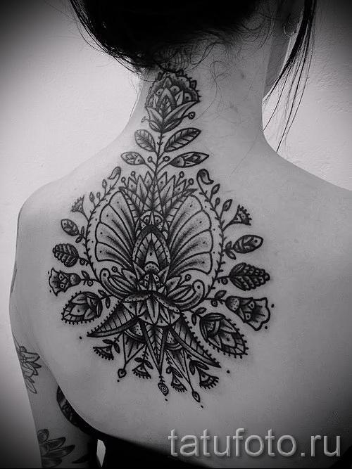 черные узоры для тату - фото пример для выбора от 28022016 25