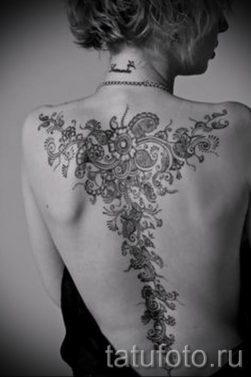 черные узоры для тату - фото пример для выбора от 28022016 26