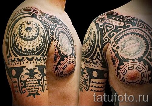 черные узоры для тату - фото пример для выбора от 28022016 3