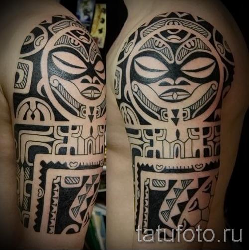 черные узоры для тату - фото пример для выбора от 28022016 5
