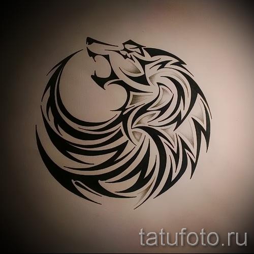 волк узор тату - фото пример для выбора от 28022016 2