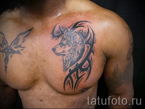 волк узор тату - фото пример для выбора от 28022016 6
