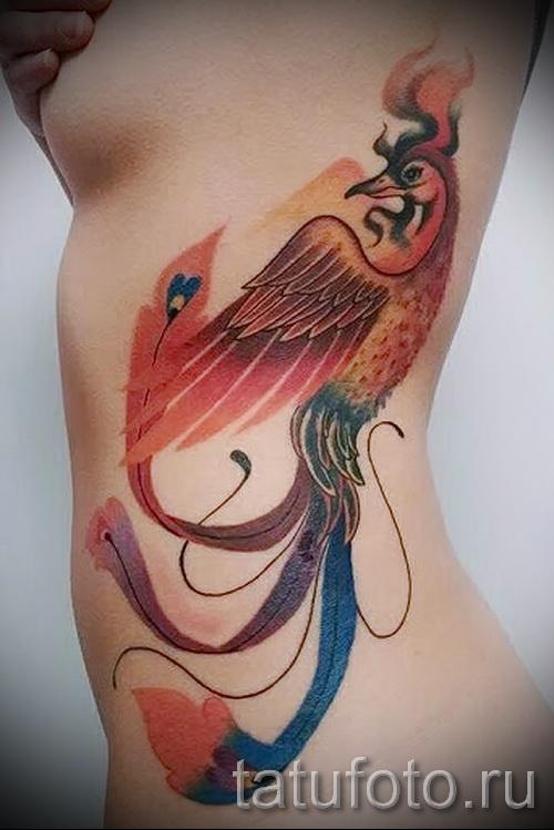 тату феникс - фото готовой татуировки от 11022016 3