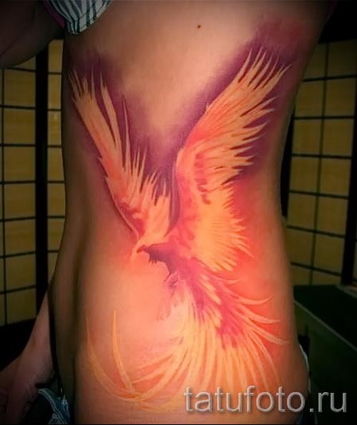 тату феникс фото - фото готовой татуировки от 11022016 2