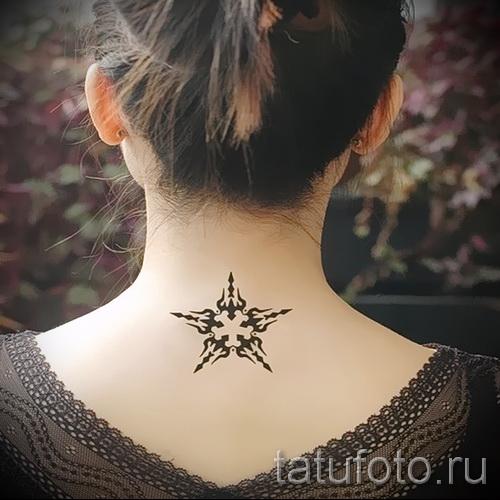 узоры на шее тату - фото пример для выбора от 28022016 2