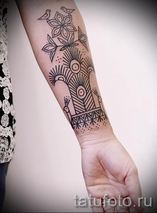 черные узоры для тату - фото пример для выбора от 28022016 17