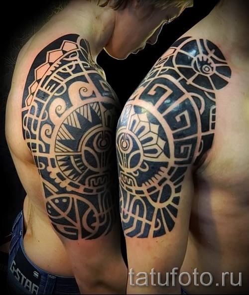 черные узоры для тату - фото пример для выбора от 28022016 2