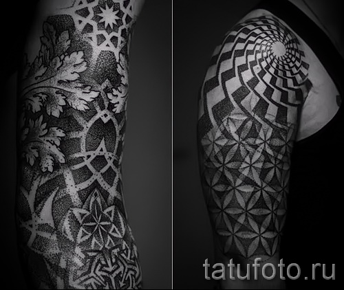Black patterns for tattoos - Photo example for the selection of 28022016 1