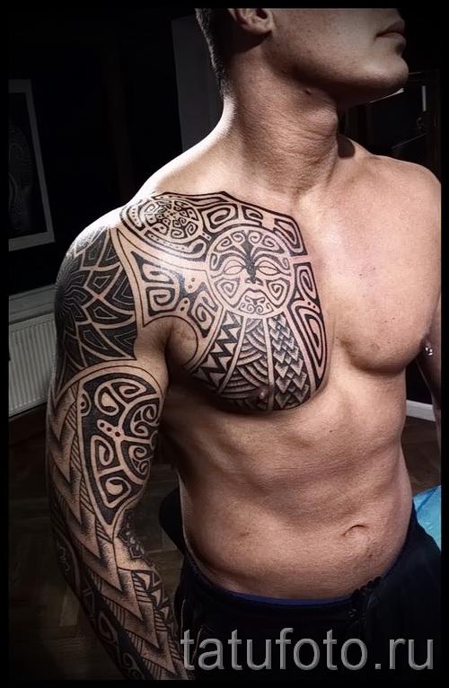 Scandinavian Muster Tattoo - Foto Beispiel für die Auswahl von 28022016 12