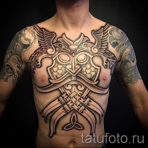 Scandinavian Muster Tattoo - Foto Beispiel für die Auswahl von 28022016 14