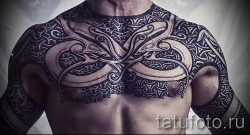 Scandinavian Muster Tattoo - Foto Beispiel für die Auswahl von 28022016 21