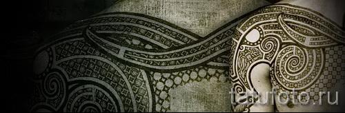 Scandinavian Muster Tattoo - Foto Beispiel für die Auswahl von 28022016 9