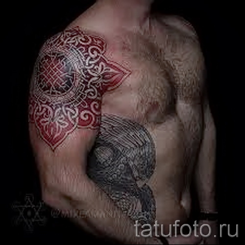 Slavic ornaments tattoo - Photo example for the selection of 28022016 1