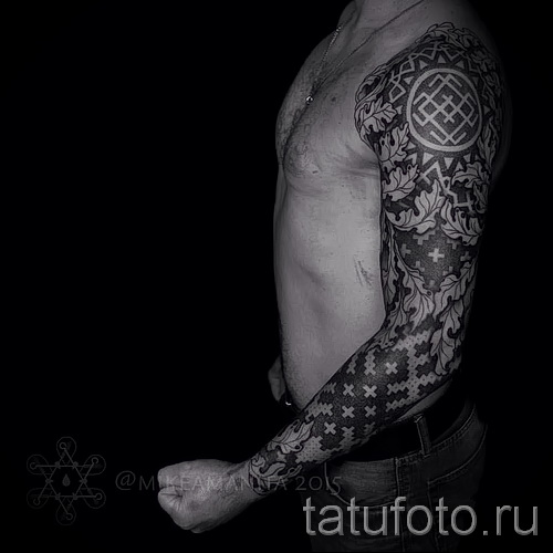 Slavic ornaments tattoo - Photo example for the selection of 28022016 2