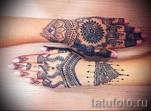 Tattoo-Designs auf der Hand für die Mädchen - Foto Beispiel für die Auswahl von 28022016 1