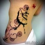 Tattoo Frauen an den Rändern - Foto Beispiel für eine Tätowierung auf 03022016 1