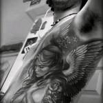 Tattoo auf den Rändern der Engel - Bild mit einem Beispiel eines Tattoo-03022016 1
