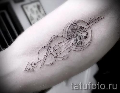 Tattoo geometrische Muster - Foto Beispiel zur Auswahl 28022016 2
