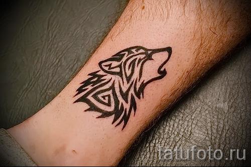 Wolf Tattoo-Muster - Foto Beispiel für die Auswahl von 28022016 1