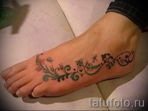 conceptions de tatouage à pied - par exemple photo pour la sélection de 28022016 1