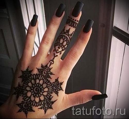 conceptions de tatouage sur la main pour les filles - exemple photo pour la sélection de 28022016 1