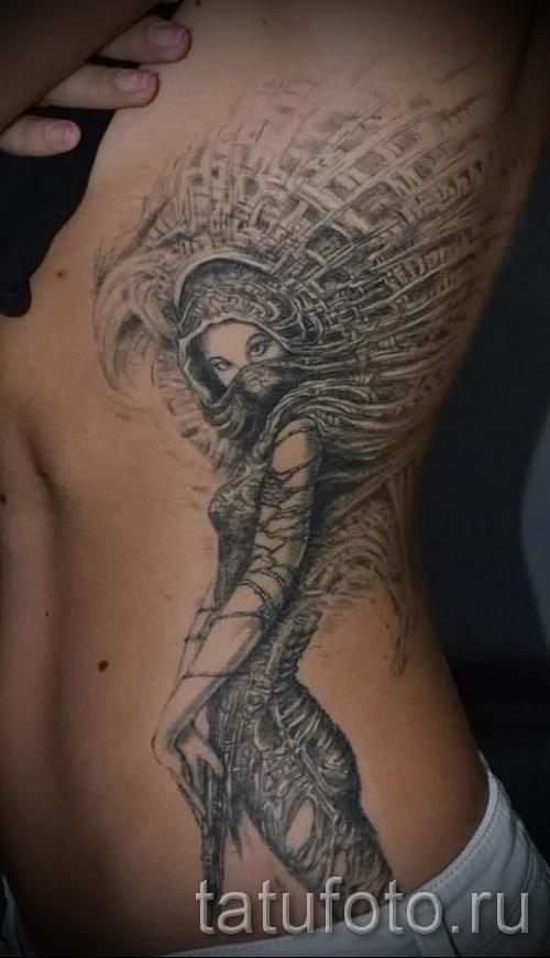 les femmes de tatouage sur les bords - par exemple Photo d'un tatouage sur 03022016 2