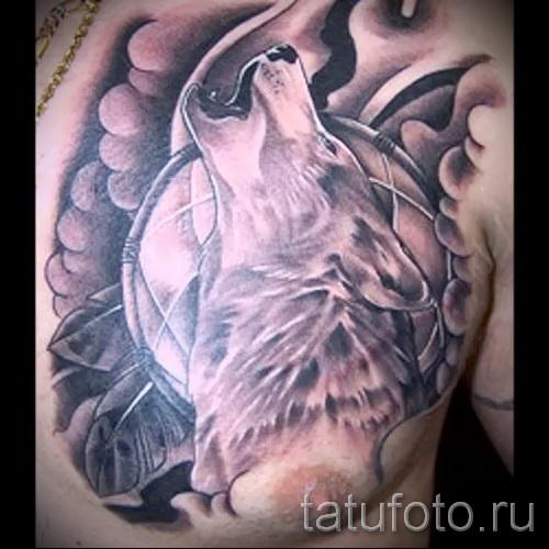 motif de tatouage loup - photo exemple pour la sélection de 28022016 3