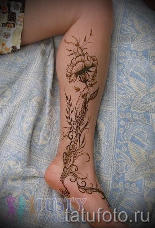motifs de tatouage sur la jambe pour les filles - exemple photo pour la sélection de 28022016 1