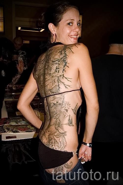 motifs de tatouage sur le dos de la femme - pour sélectionner un exemple de photo de 28022016 2