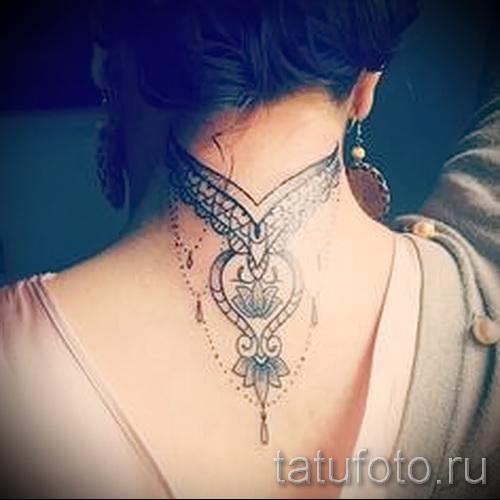 motifs sur le tatouage du cou - exemple photo pour la sélection de 28022016 1