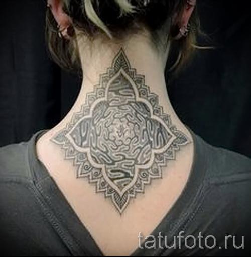 motifs sur le tatouage du cou - exemple photo pour la sélection de 28022016 3