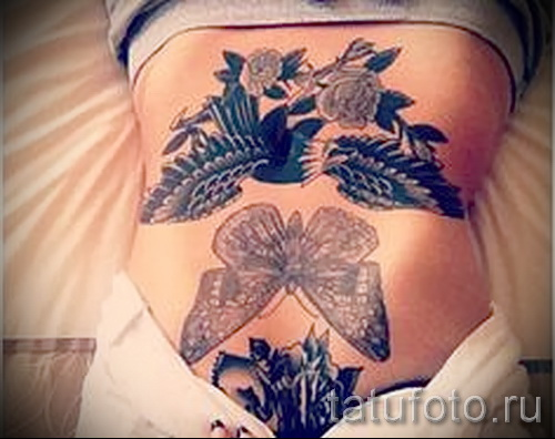 patterns on his stomach tattoo - Photo example for the selection of 28022016 1