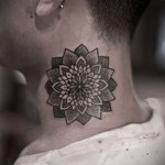 patterns on the neck tattoo - Photo example for the selection of 28022016 1