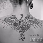 phoenix géométrie de tatouage - une photo du tatouage fini sur 11022016 1