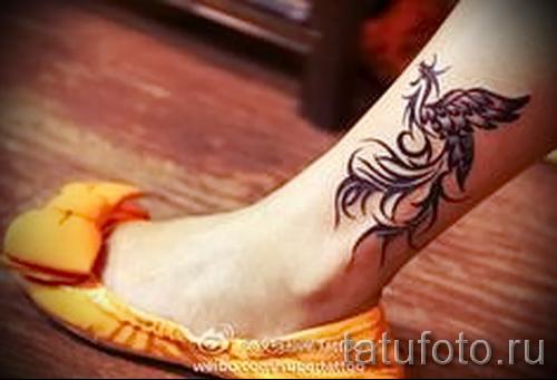 phoenix photo du tatouage sur la cheville - une photo du tatouage fini 11022016 3