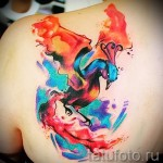 phoenix tatouage aquarelle - photo du tatouage fini 11022016 1