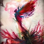 phoenix tatouage aquarelle - photo du tatouage fini 11022016 2